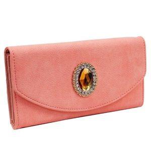 Handbags - Coral Pink Wallet